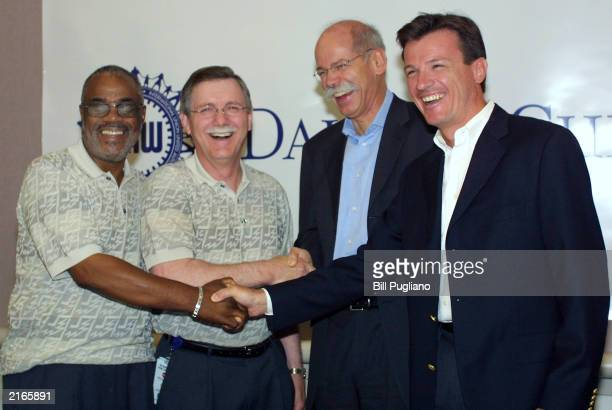 DaimlerChrysler Chrysler Group Chief Operations Officer Wolfgang Bernhard Chrysler Group President and CEO Dieter Zetsche United Auto Workers...