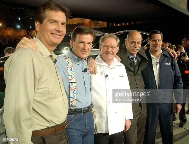 DaimlerChrysler's Chrysler Groups management team Jim Schroer executive VP Global Sales and Marketing Wolfgang Bernhard COO Trevor Creed senior VP...