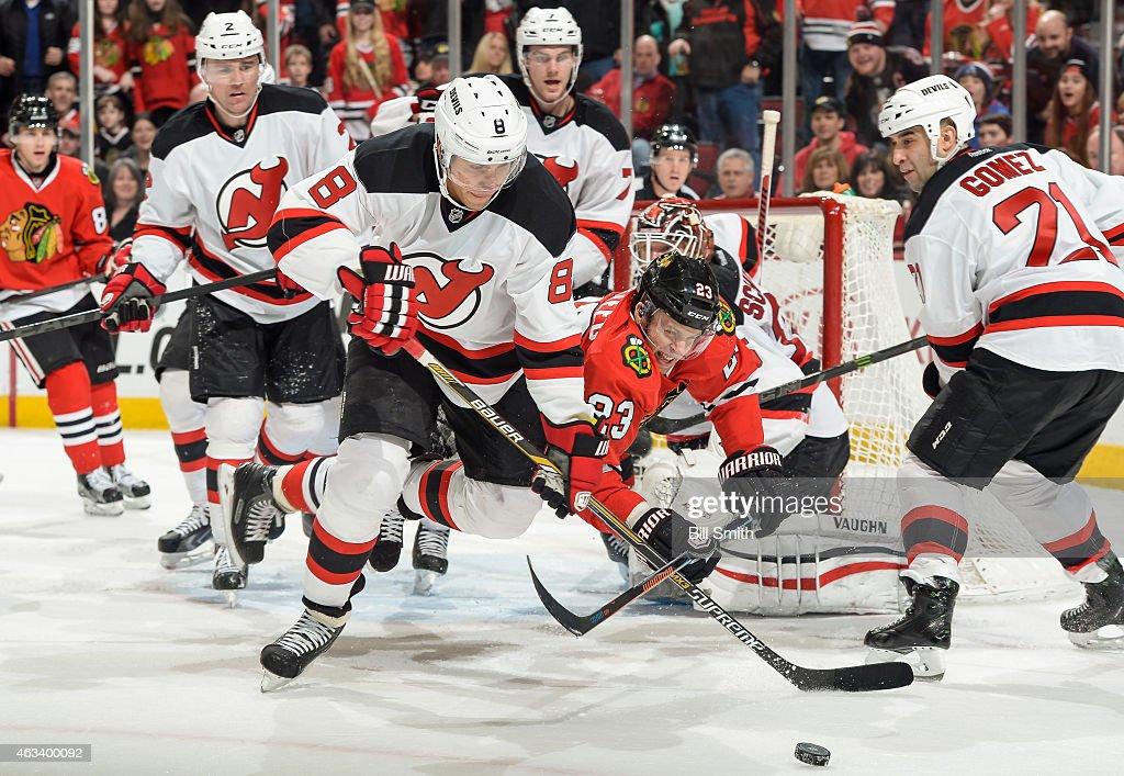 New Jersey Devils v Chicago Blackhawks