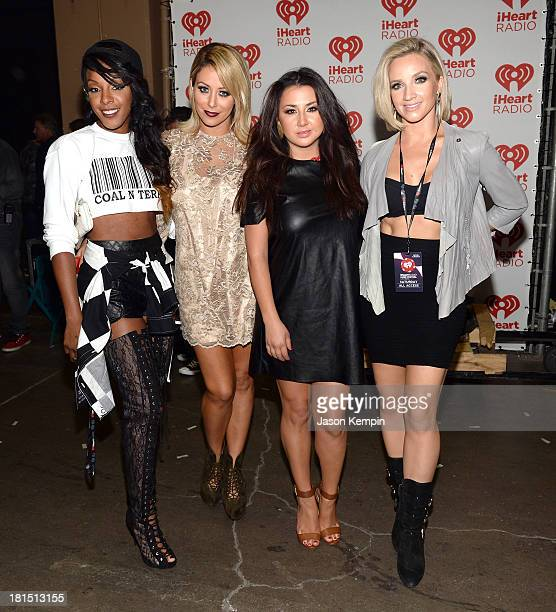 Dainty Kane attends the iHeartRadio Music Festival at the MGM Grand Garden Arena on September 21 2013 in Las Vegas Nevada