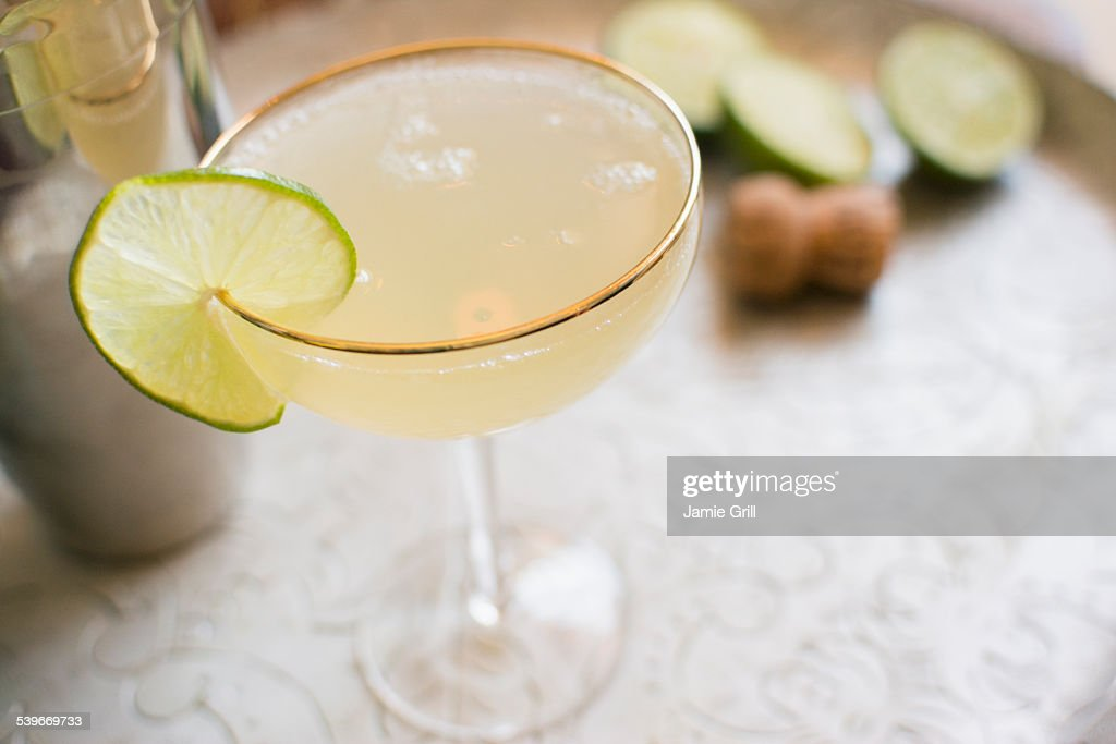 Daiquiri cocktail : Stock Photo