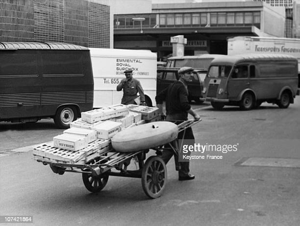 Dairy Products Load At Halles De Rungis In Paris On April 11St 1969