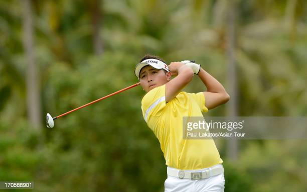 Daisuke Kataoka of Japan plays a shot during round three of the Queen's Cup at Santiburi Samui Country Club on June 15 2013 in Bangkok Thailand