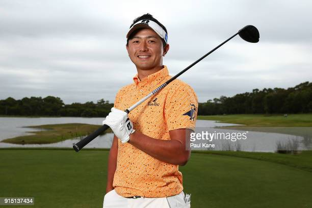 Daisuke Kataoka of Japan poses during the proam ahead of the World Super 6 at Lake Karrinyup Country Club on February 7 2018 in Perth Australia