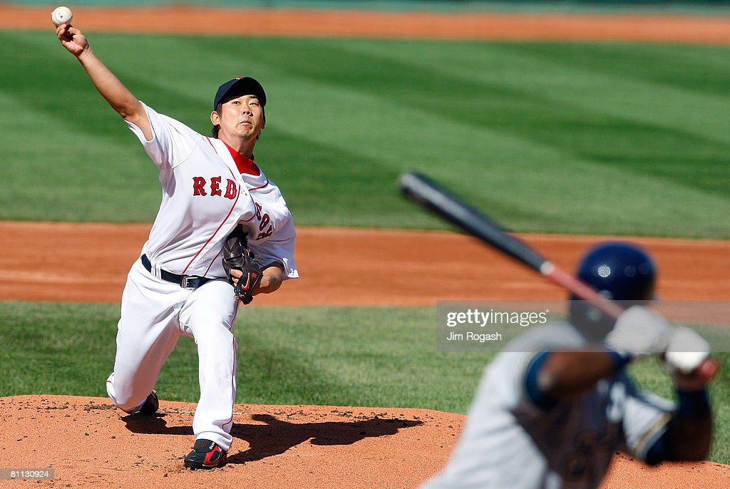 Milwaukee Brewers v Boston Red Sox : ニュース写真