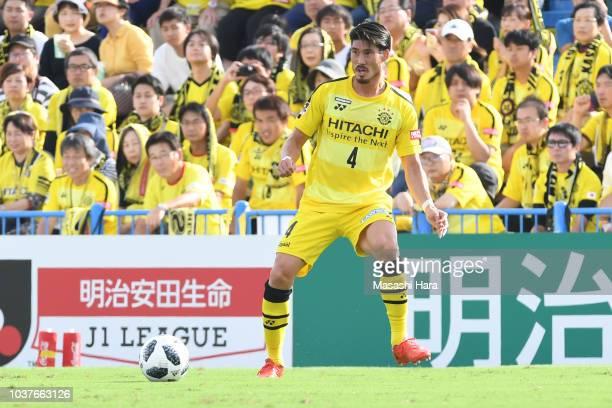 Daisuke Suzuki of Kshiwa Reysol in action during the JLeague J1 match between Kashiwa Reysol and Sagan Tosu at Sankyo Frontier Kashiwa Stadium on...