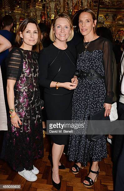 Daisy Bates editor Penny Martin and Tiphaine de Lussy attend 'The Gentlewoman' issue launch party at the Oscar Wilde Bar at The Club at Hotel Cafe...
