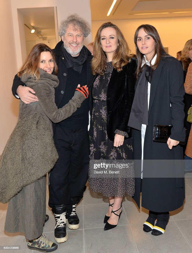 Daisy Bates, Malcolm Venville, Lucy Yeomans and Tania Fares attend as PORTER hosts the first of their 'Incredible Women' Talks supported by Mark's Club at The Serpentine Sackler Gallery on February 1, 2017 in London, England.