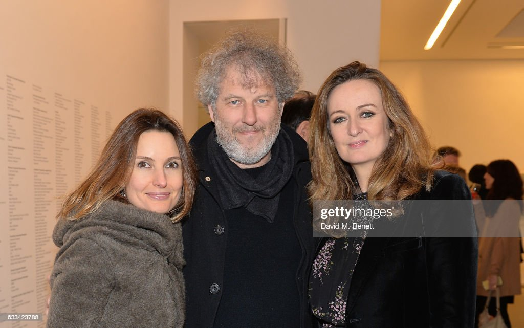 Daisy Bates, Malcolm Venville, Lucy Yeomans attend as PORTER hosts the first of their 'Incredible Women' Talks supported by Mark's Club at The Serpentine Sackler Gallery on February 1, 2017 in London, England.