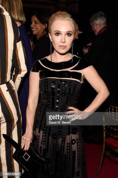 Daisy Bevan attends The 64th Evening Standard Theatre Awards after party at the Theatre Royal Drury Lane on November 18 2018 in London England