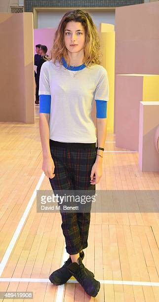 Daisy Bevan attends the Roksanda show during London Fashion Week SS16 at Bryanston Place on September 21 2015 in London England