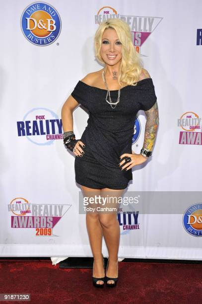 Daisy de la Hoya poses for a picture at the 2009 Fox Reality Channels Really Awards held at The Music Box @ Fonda on October 13 2009 in Los Angeles...