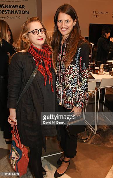 Daisy de Villeneuve and Davina Catt attend the launch of 'SX Rankin' a new fragrance collaboration between photographer Rankin and fragrance designer...