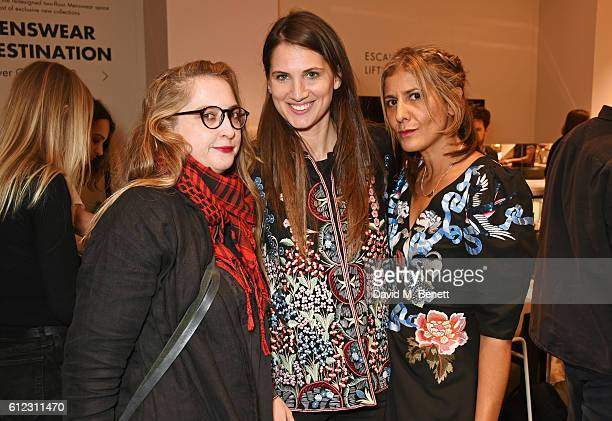 Daisy de Villeneuve Davina Catt and Azzi Glasser attend the launch of 'SX Rankin' a new fragrance collaboration between photographer Rankin and...
