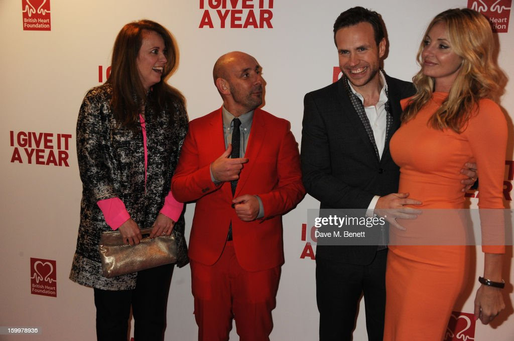 I Give It A Year - European Premiere - Inside Arrivals