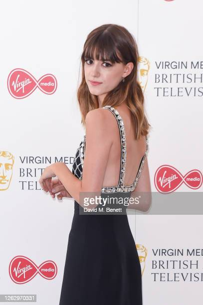 Daisy EdgarJones attends the Virgin Media British Academy Television Award 2020 at Television Centre on July 31 2020 in London England