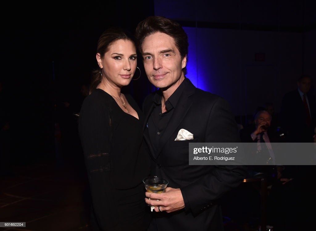 Daisy Fuentes (L) and Richard Marx attend A Legacy Of Changing Lives presented by the Fulfillment Fund at The Ray Dolby Ballroom at Hollywood & Highland Center on March 13, 2018 in Hollywood, California.