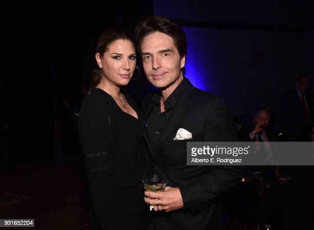Daisy Fuentes and Richard Marx attend A Legacy Of Changing Lives presented by the Fulfillment Fund at The Ray Dolby Ballroom at Hollywood Highland...