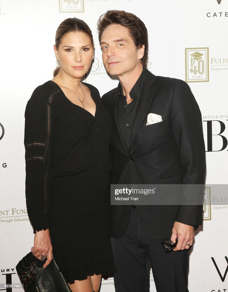 Daisy Fuentes and Richard Marx attend A Legacy of Changing Lives presented by The Fulfillment Fund held at The Ray Dolby Ballroom at Hollywood & Highland Center on March 13, 2018 in Hollywood, California.