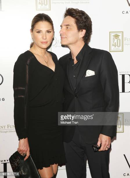 Daisy Fuentes and Richard Marx attend A Legacy of Changing Lives presented by The Fulfillment Fund held at The Ray Dolby Ballroom at Hollywood...