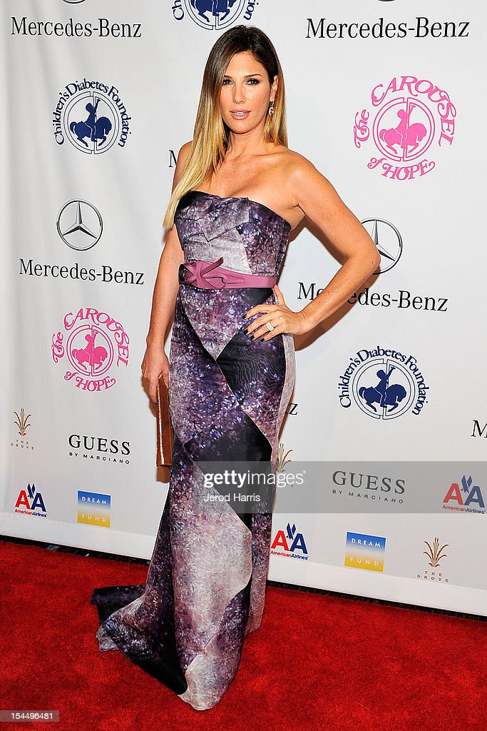 Daisy Fuentes arrives at Mercedes-Benz presents The Carousel Of Hope on October 20, 2012 in Los Angeles, California.