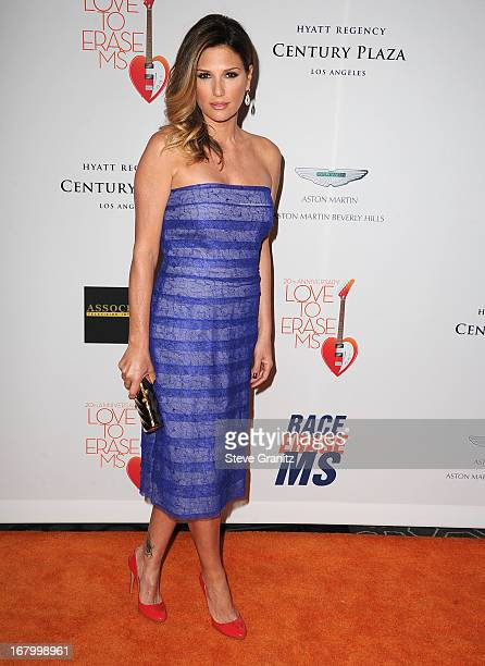 Daisy Fuentes arrives at the 20th Annual Race To Erase MS Gala Love To Erase MS at the Hyatt Regency Century Plaza on May 3 2013 in Century City...
