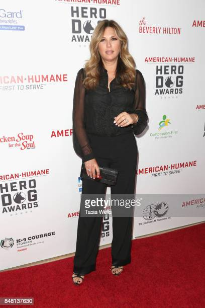 Daisy Fuentes at the 7th Annual American Humane Association Hero Dog Awards at The Beverly Hilton Hotel on September 16 2017 in Beverly Hills...