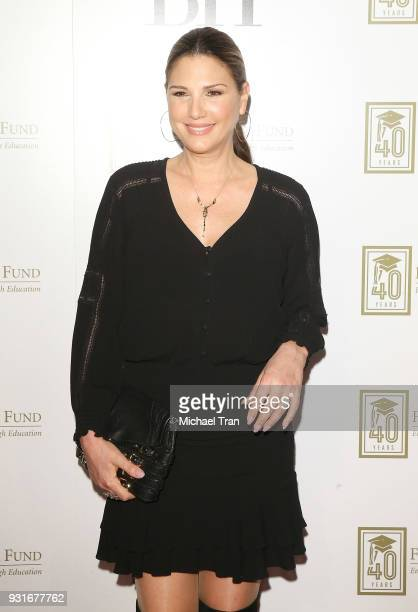 Daisy Fuentes attends A Legacy of Changing Lives presented by The Fulfillment Fund held at The Ray Dolby Ballroom at Hollywood Highland Center on...