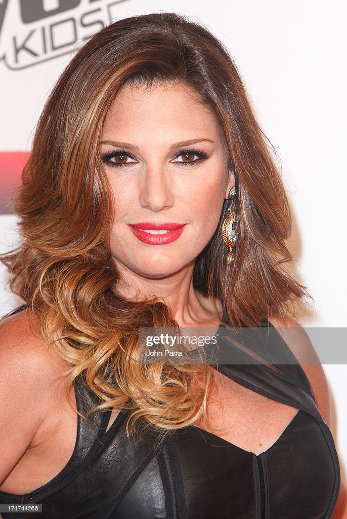 Daisy Fuentes attends Telemundo's 'La Voz Kids Finale on July 27, 2013 in Miami, Florida.