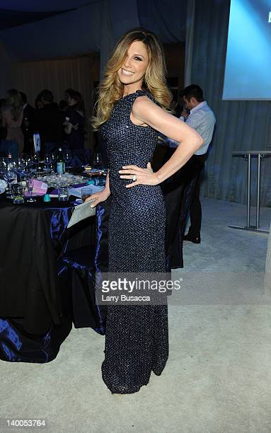Daisy Fuentes attends the 20th Annual Elton John AIDS Foundation Academy Awards Viewing Party at The City of West Hollywood Park on February 26 2012...