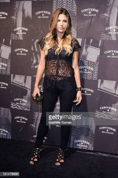 Daisy Fuentes attends the Converse Weapon Launch Party at John Varvatos Bowery NYC on September 7 2012 in New York City