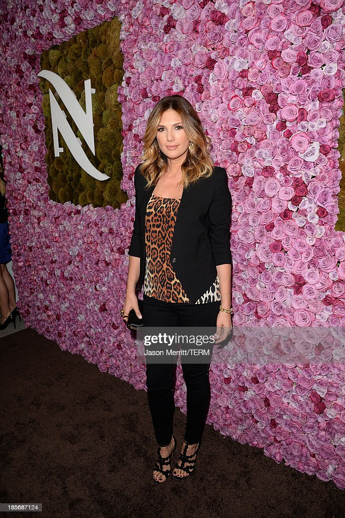 Daisy Fuentes celebrates the opening of the new Nespresso Beverly Hills Flagship boutique on October 23, 2013 in Beverly Hills, California. The 7,500 square foot space offers guests the ultimate coffee experience.