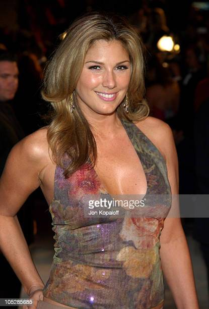 Daisy Fuentes during 2004 Vanity Fair Oscar Party at Mortons in Beverly Hills California United States