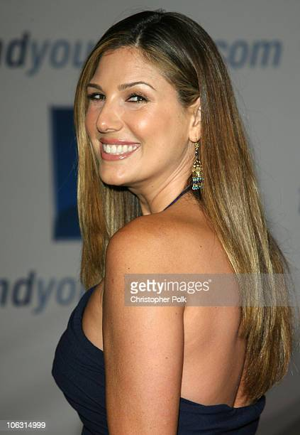 Daisy Fuentes during 2006 General Motors Annual ten Celebrity Fashion Show Arrivals at 1540 Vine Street in Hollywood California United States