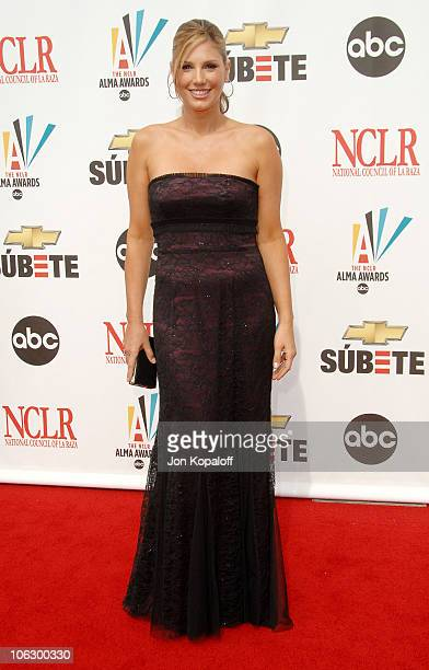 Daisy Fuentes during 2007 NCLR ALMA Awards Arrivals at Pasadena Civic Center in Pasadena California United States
