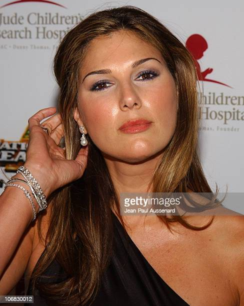 Daisy Fuentes during 3rd Annual Runway For Life Benefiting St Jude Children's Research Hospital Arrivals at Beverly Hilton in Beverly Hills...