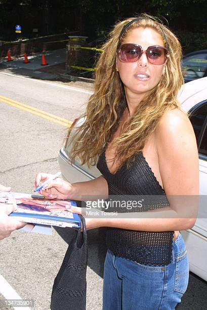 Daisy Fuentes during A Time For Hereos Carnival and Picnic at Bel Air in Bel Air California United States