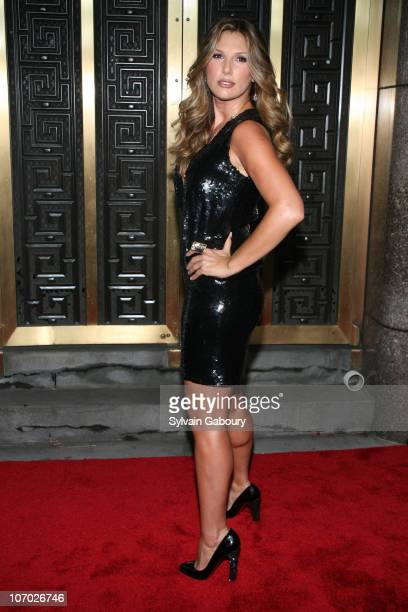 Daisy Fuentes during Conde Nast Media Group Kicked off Fashion Week with the Third Annual 'Fashion Rocks' Concert Arrivals at Radio City Music Hall...