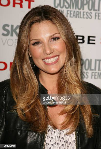 Daisy Fuentes during Cosmo Magazine Launches BEBESPORT with Eva Longoria at Mondrian Hotel in Hollywood California United States