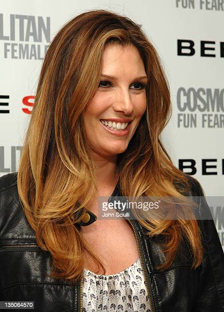 Daisy Fuentes during Cosmopolitan Magazine Launches BEBESPORT with Eva Longoria at Mondrian Hotel in Los Angeles California United States