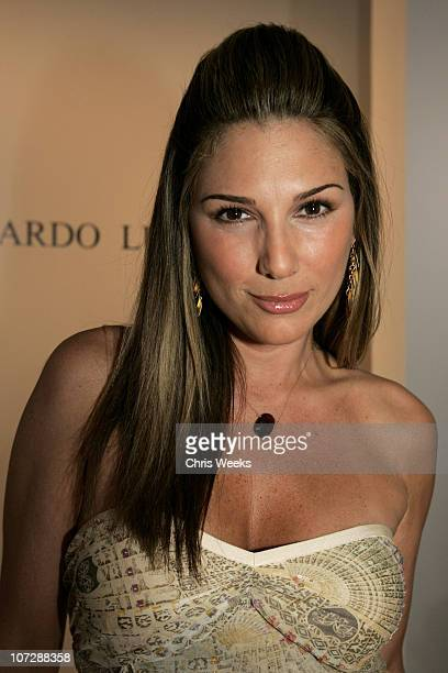 Daisy Fuentes during MercedesBenz Fall 2005 Fashion Week at Smashbox Studios Eduardo Lucero Front Row at Smashbox Studios in Culver City California...