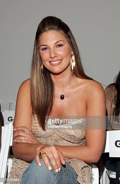 Daisy Fuentes during MercedesBenz Fall 2005 LA Fashion Week at Smashbox Studios Shakti by Jacquelyne Love Runway at Smashbox Studios in Culver City...
