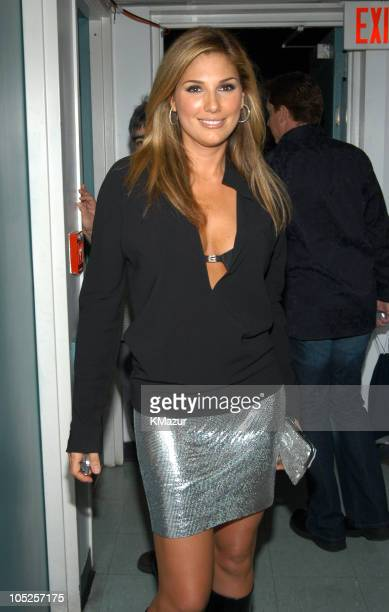 Daisy Fuentes during MTV Video Music Awards Latin America 2003 Backstage and Audience at The Jackie Gleason Theater in Miami Beach Florida United...