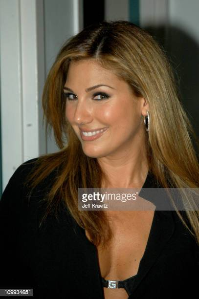 Daisy Fuentes during MTV Video Music Awards Latin America 2003 Backstage and Audience at Jackie Gleason Theater in Miami Beach Florida United States