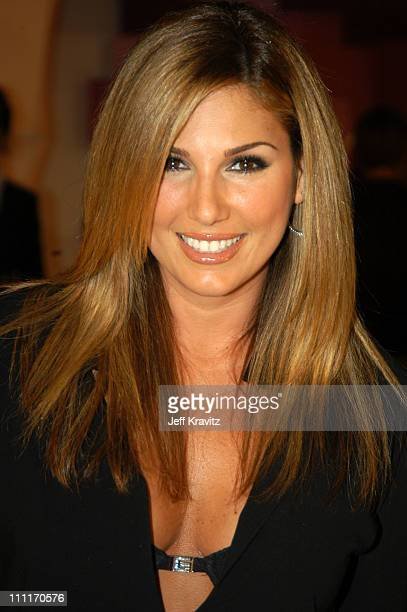 Daisy Fuentes during MTV Video Music Awards Latin America 2003 Red Carpet at Jackie Gleason Theater in Miami Beach Florida United States