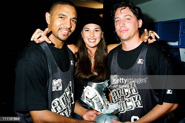 Daisy Fuentes during MTV's 3rd Annual Rock N' Jock Basketball 1993 in Los Angeles California United States