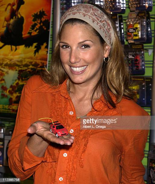 Daisy Fuentes during Press Conference to Announce the Launch of ZipZaps PocketSized Radio Controlled Racers from Radio Shack at The Petersen...