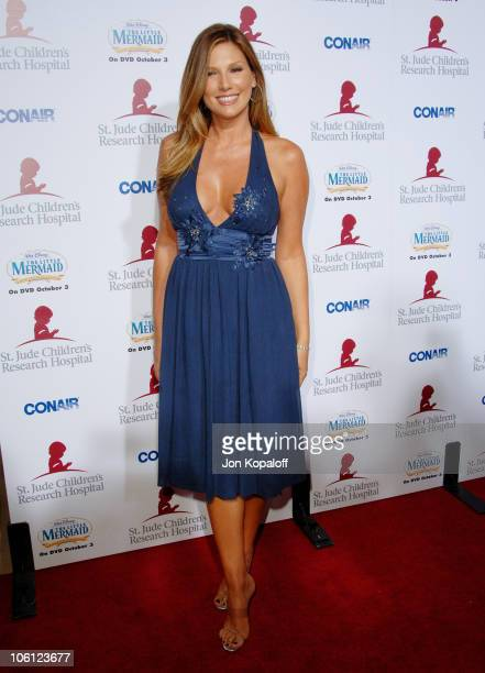 Daisy Fuentes during Runway For Life Benefiting St Jude Children's Research Hospital Arrivals at Beverly Hilton in Beverly Hills California United...