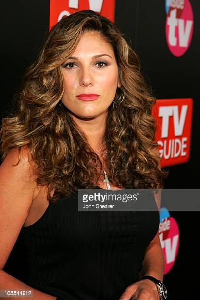 Daisy Fuentes during The 57th Annual Emmy Awards TV Guide and Inside TV After Party Arrivals at Hollywood Roosevelt Hotel in Hollywood California...