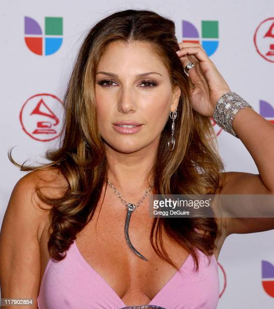 Daisy Fuentes during The 6th Annual Latin GRAMMY Awards Arrivals at Shrine Auditorium in Los Angeles CA United States